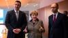Liderii opoziţiei de la Kiev au primit asigurări de susţinere din partea cancelarului german