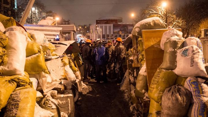 Comunitatea internaţională este îngrijorată de situaţia din capitala Ucrainei