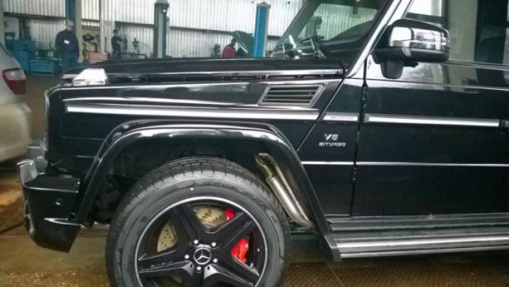 (FOTO) Cel mai puternic Mercedes-Benz G-Class din Moldova a fost surprins la Chişinău