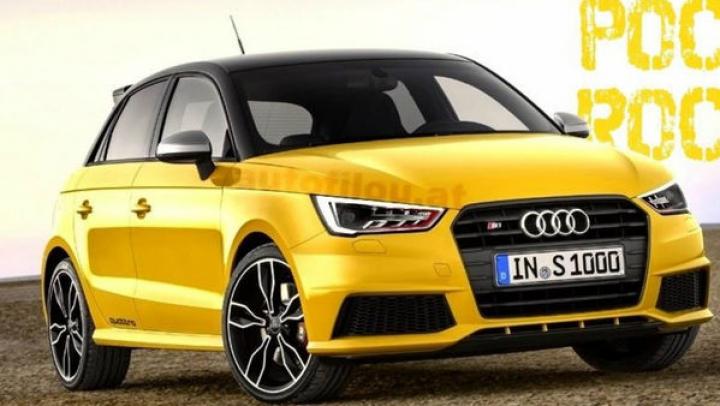 Audi S1 quattro, prima imagine a noii versiuni de performanţă a lui A1