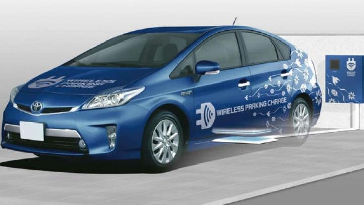 Toyota anunţă un sistem de încărcare wireless care alimentează bateriile în 90 de minute