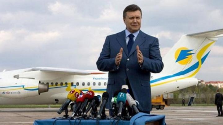 Victor Ianukovici a aterizat pe un aeroport militar din Rusia DETALII