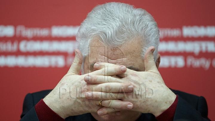 Liderul PCRM, Vladimir Voronin, surprinde din nou. AFLĂ cum, la ştirile PRIME TIME de la 19.00