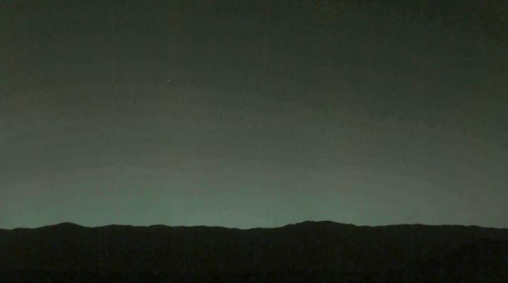 (FOTO) Cum se vede planeta noastră fotografiată de pe Marte