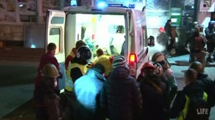 Creşte numărul persoanelor decedate pe Maidan. Ministerul Sănătăţii de la Kiev anunţă 28 de morţi