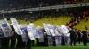 Clipe de GROAZĂ la un meci de fotbal din Turcia. Arbitrul a întrerupt partida