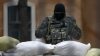 Un grup prorus a atacat o bază ucraineană din Novofedorivk