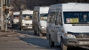 Decizia privind majorarea tarifului pentru călătoria cu microbuzul, AMÂNATĂ