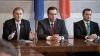 Liderii Coaliţiei Pro Europene în faţa presei (LIVE TEXT-VIDEO)