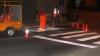 A început reabilitarea marcajelor rutiere din capitală