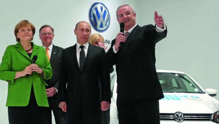 Volkswagen ignoră sancţiunile UE pentru anexarea Crimeii şi continuă investiţiile în Rusia