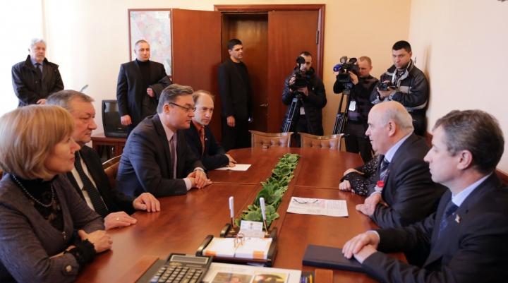 Corman, în vizită de lucru la Bălţi: Modernizarea Republicii Moldova este chintesența integrării europene