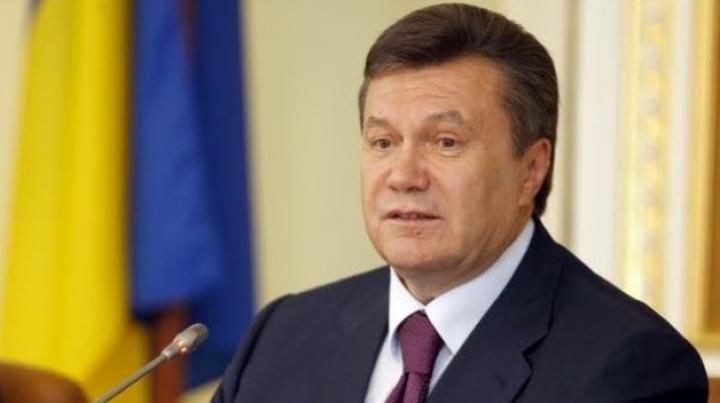 Ianukovici iese din nou în faţa presei la ora 11:00