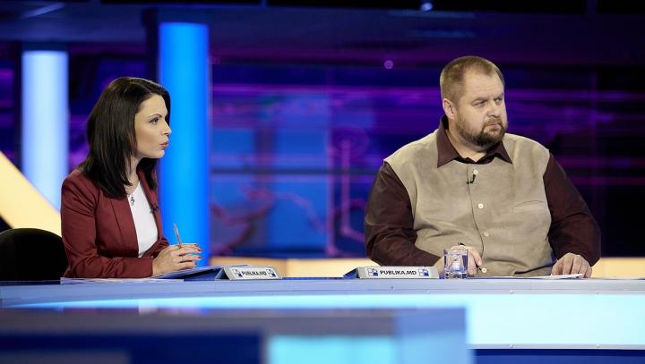 Dumitru Diacov, Ion Hadârcă şi Valeriu Streleţ sunt invitaţi diseară la FABRIKA