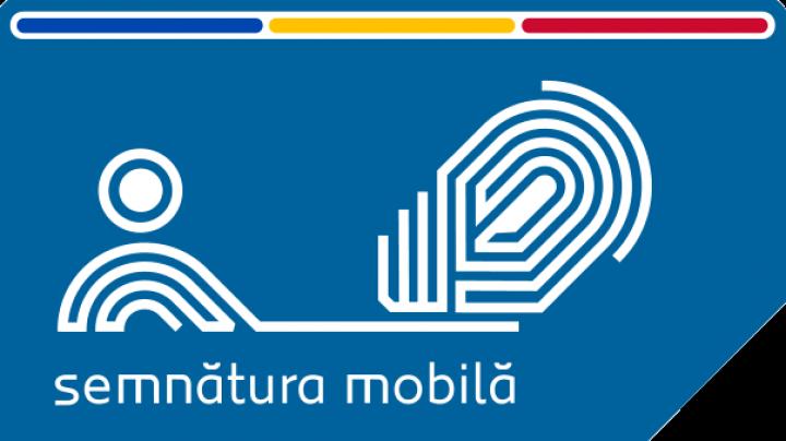 Peste şase mii de moldoveni au apelat la semnătura mobilă în primele zile de la lansarea serviciului