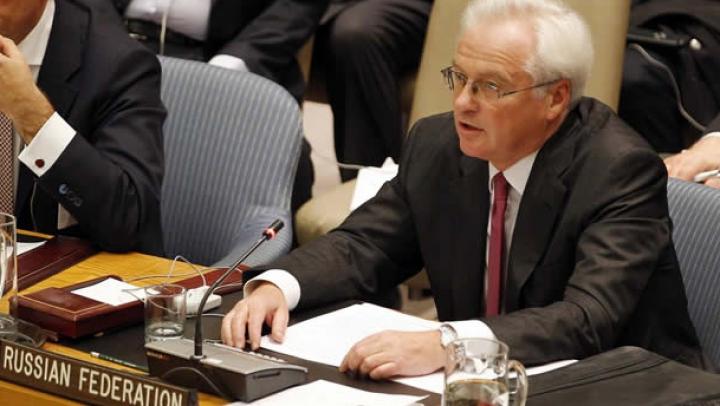 Rusia a blocat Rezoluţia ONU privind situaţia din Ucraina