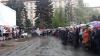 Creştinii din Ucraina au sărbătorit Învierea în Pieţe, rugându-se pentru pace în ţara lor (FOTO/VIDEO)