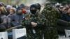 Noi violenţe în estul Ucrainei. Comisariatul de poliţie din oraşul Kramatorsk este asediat de persoane înarmate