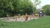 Multe dintre aparatele de fitness instalate în parcurile din Chişinău sunt deja nefuncţionale (VIDEO)