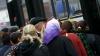 Îmbulzeală şi forfotă mare în transportul public de Paştele Blajinilor (VIDEO)