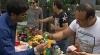 La Soroca, creştinii romi s-au întrecut în pompozitatea pomenilor de Blajini