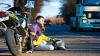 A MURIT motociclistul care a spulberat doi oameni pe bulevardul Dacia din capitală (FOTO)