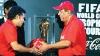 Trofeul Cupei Mondiale a ajuns în Brazilia! La ceremonie a participat legendarul fotbalist Alberto Torres