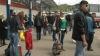 Îmbulzeală la gările din Chişinău: Toţi se grăbesc să facă Paştele în provincie