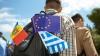 (GALERIE FOTO) Au călătorit fără vize în Uniunea Europeană! Oficiali, jurnalişti, studenţi şi elevi moldoveni au vizitat Atena