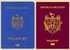 Undă verde pentru noua culoare a paşapoartelor moldoveneşti