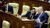 Comuniştii şi socialiştii au început şedinţa Parlamentului cu BOICOT