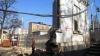 Demolare cu scandal a unui monument istoric din Chişinău. Poliţia nu a dorit să comenteze situaţia