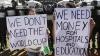 Mai mulţi copii au protestat în Brazilia faţă de cheltuielile mari pentru organizarea Campionatului Mondial