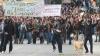 Lupte de stradă la Atena: Sute de oameni s-au bătut din nou cu forţele de ordine