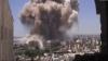 (VIDEO) O bombă a explodat în oraşul sirian Aleppo. Deflagraţia a fost surprinsă de o cameră video