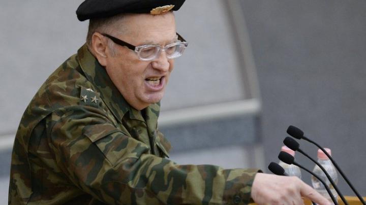 Jirinovski l-a ameninţat pe Secretarul Consiliului Naţional pentru Securitate şi Apărare al Ucrainei (VIDEO)
