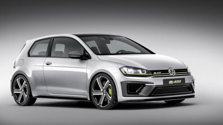 Volkswagen va lansa cel mai puternic Golf R 400 Concept. Maşina va ascunde sub capotă 400 de cai putere