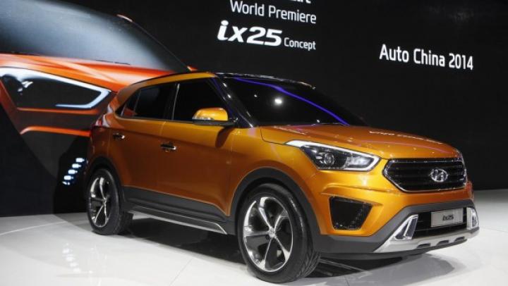 Cel mai nou concept Hyundai ix25 a debutat la Salonul Auto de la Beijing (FOTO)