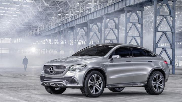 Prezentarea oficială a Mercedes-Benz Concept Coupe SUV a avut loc în China (FOTO)