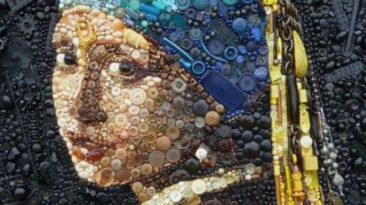Imagini UIMITOARE ale unor opere de artă realizate din gunoi (GALERIE FOTO)