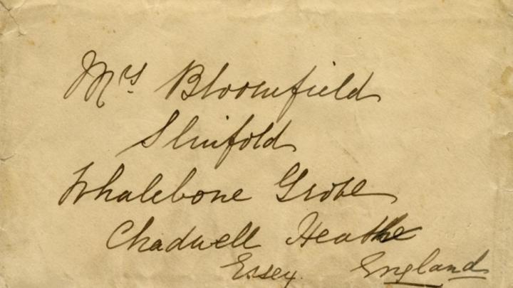 Singura scrisoare redactată la bordul Titanicului în seara naufragiului a fost vândută (FOTO)