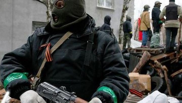 Primăria oraşului Konstantinovka a fost ocupată de separatişti. Autorităţile negociază eliberarea clădirii