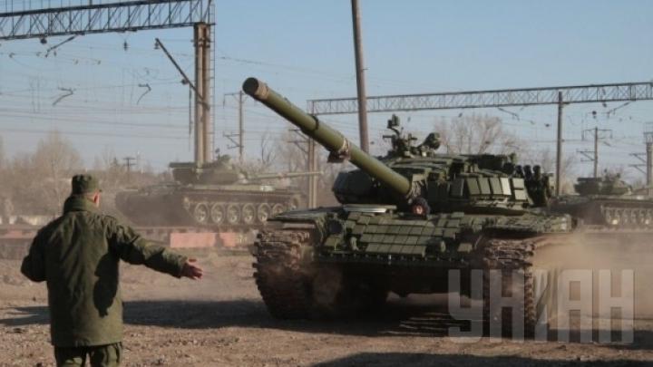 """Reprezentantul Ucrainei la ONU: Rusia a plasat la graniţă peste 200 de tancuri, lansatoare de rachete """"GRAD"""" şi unităţi de artilerie"""