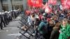 Proteste la Bruxelles! Simpatizanţi ai partidelor de stânga au pichetat întâlnirea liderilor partidelor eurosceptice