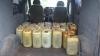 S-a pornit în Ucraina cu 875 de litri de motorină, dar poliţia i-a dat planurile peste cap (FOTO)