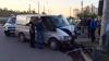 Accident rutier la Ciocana! Două automobile s-au ciocnit în apropierea unei treceri de pietoni (FOTO)