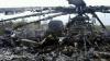 NO COMMENT! Imagini video cu un elicopter al trupelor guvernamentale, care a fost distrus la Sloviansk