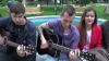 """""""Nu s-a mai organizat aşa ceva!"""" Chitariştii din Ungheni cu un îndemn către tineri (VIDEO)"""
