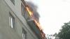Întreg efectivul de pompieri din capitală a fost mobilizat să stingă incendiul de la Botanica