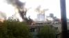 Mansardă în flăcări la Botanica! Trei ambulanţe şi mai multe autospeciale au mers la faţa locului (FOTO/VIDEO)